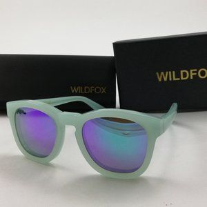 Wildfox Classic Deluxe Sunglasses Mint Blue Green
